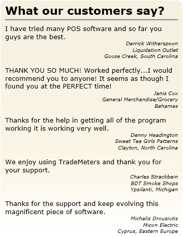 Best POS Software for Windows® PC | $30/month | TradeMeters